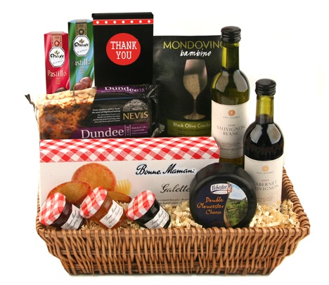 Thank You Gift Basket - perfect for any occasion, including Father's Day!