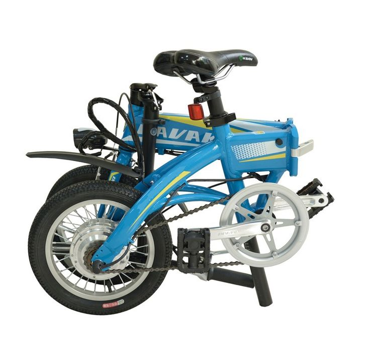 Latest Unique Mini 14 inch Folding Foldable Aluminium Electric Bike Ebike With Lithium-ion Battery 36V 8Ah http://www.jtautoparts.com/lat