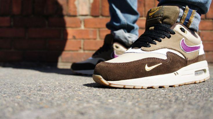 2bc66036b3 ... Nike Air Max 1 Atmos Viotech | Nike Air Max 1 | Pinterest | Nike, ...