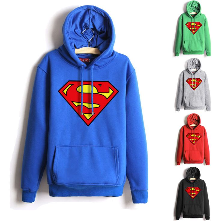 Women's Superman Hoodies //Price: $30.00 & FREE Shipping //     #avengers #justiceleague #superman #spiderman
