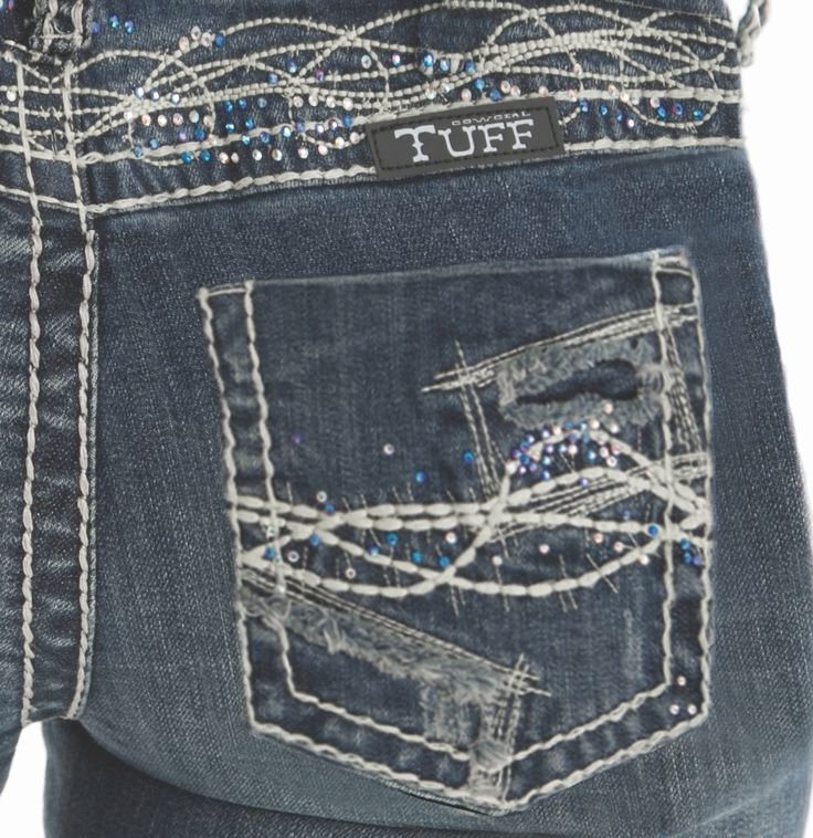 Show It Off Cowgirl Tuff Jeans