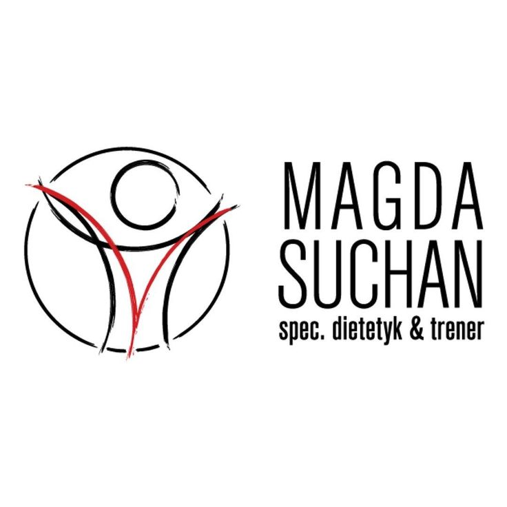 logotype for magda suchan personal coach and dietician