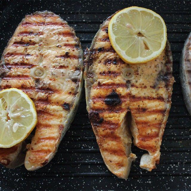 #fish#steak #salmon#eating #tagsforlikes #tasty#yum #yummy #instagood #instafood #pastry #photooftheday #lemon#delicious #foodpic #foodphotography #foodstagram #foodgasm #foodphoto #food#foodporn #гриль#рыба#стейк#