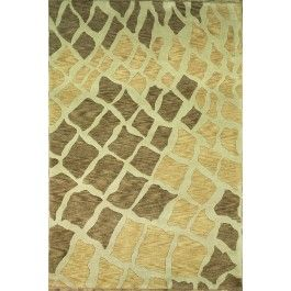 New Contemporary Modern  Area Rug 45983 - Area Rug area rugs