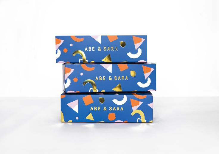 Abe & Sara by Faber & Lo. #packaging #design