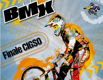 """Check out new work on my @Behance portfolio: """"Affiche BMX"""" http://on.be.net/1M9zBIE"""