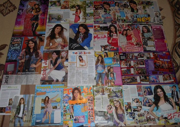 Victoria Justice - Magazine Posters / Clippings Big Collection # 5