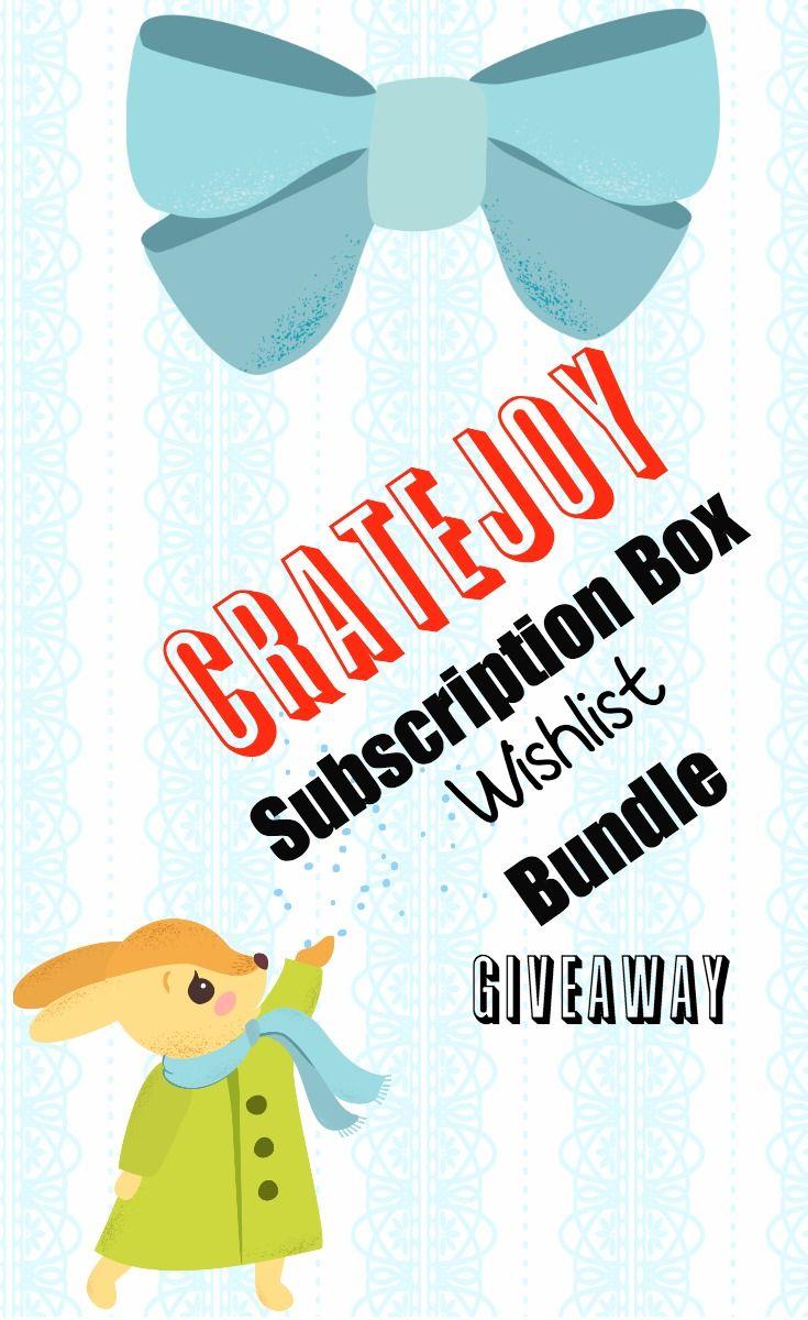 Anime bento holiday wishlist subscription box giveaway