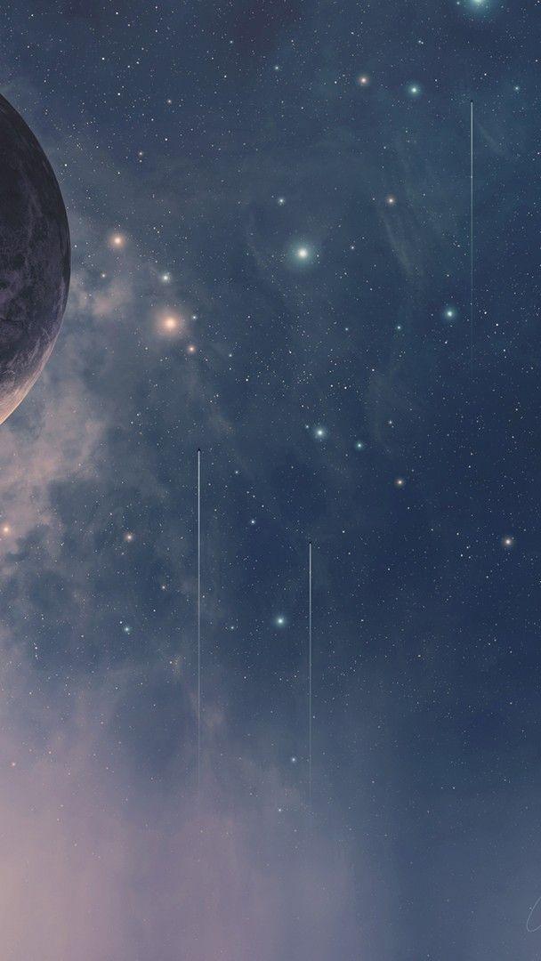 Goodnight Iphone Stars Wallpaper 2021 Live Wallpaper Hd Gambar Galaksi Wallpaper Hd Fotografi Abstrak