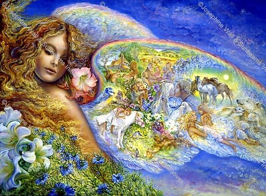 Wings of Love by Josephine Wall