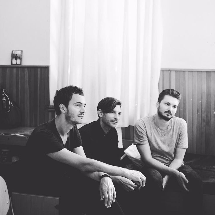 Tom, Ed and Elliott in Greece as part of Oxfam's... - No Sound But EDITORS