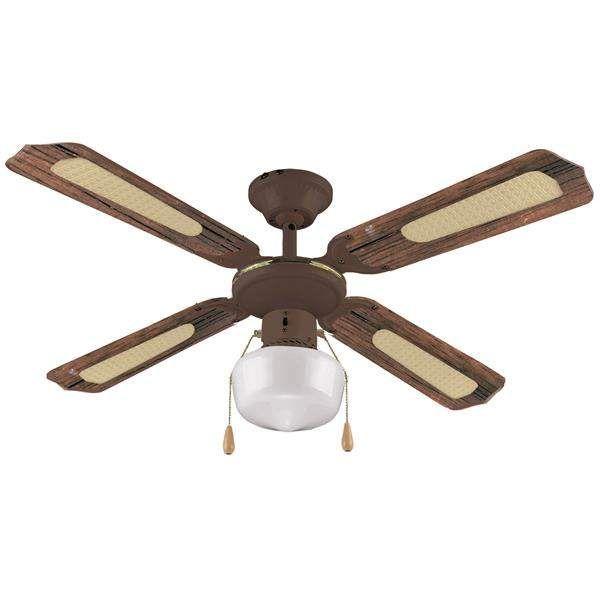 Ventilatore da soffitto 4 pale cm107