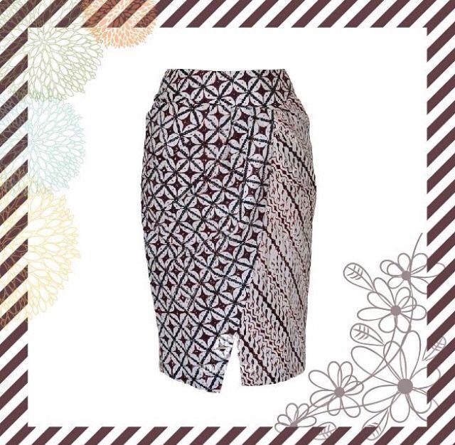 Batik skirt by Anara