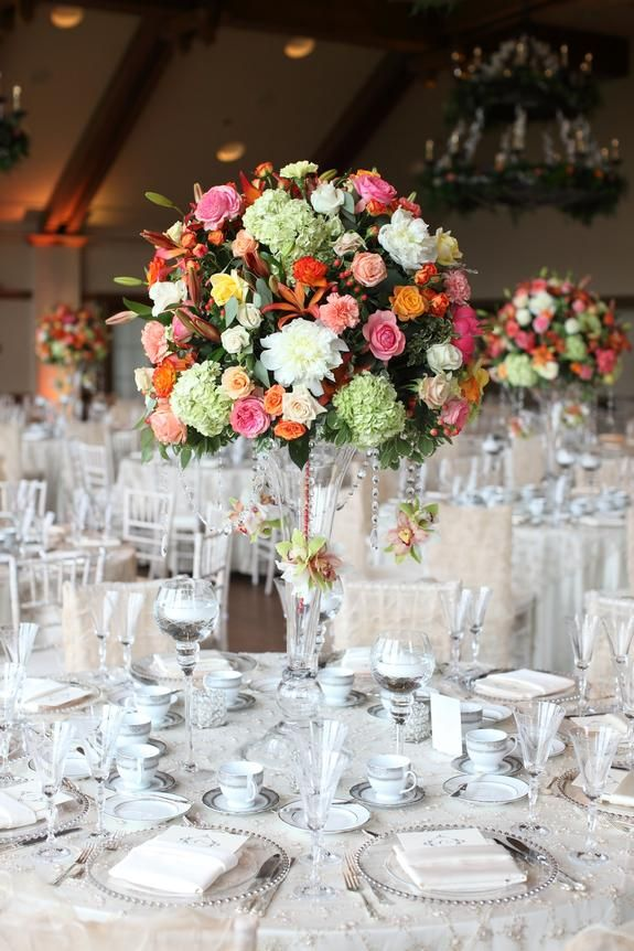 Charming Country Club Wedding Flowers By Bachman S