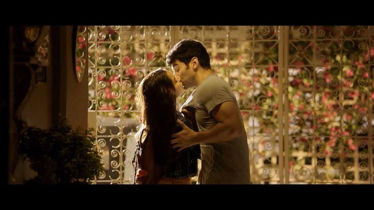 Shraddha Kapoor and Aditya Roy Kapur kissing, sexy, romantic image in Kaara Fankaara - OK Jaanu