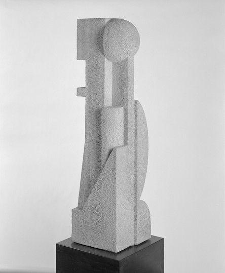 Otto Werner, Architectural sculpture, 1922 / Bauhaus-Archiv Berlin, photo: Markus Hawlik. © Hansgeorg Werner