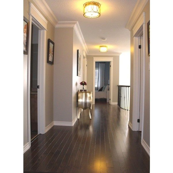 Benjamin Moore - Revere Pewter. Need this color for kitchen, living room with the dark wood floors.