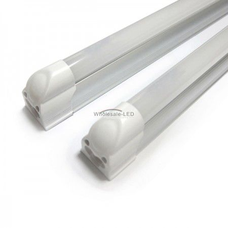 18w T5 #wholesale LED tubes feature high lumen output of 1700 lumens using only 18w power consumption. High thermal conductive aluminum PCB and #6063 anodized aluminum alloy housing. No need for extra socket as traditional fluorescent tube lights.