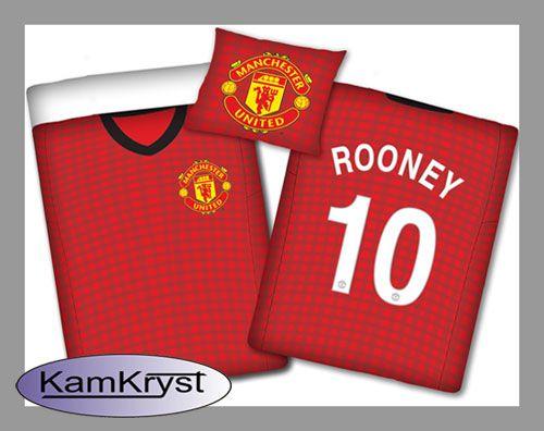 Bedding Manchester United - Rooney   Pościel Manchester United - Rooney #Manchester_United #Manchester_United_bedding #rooney