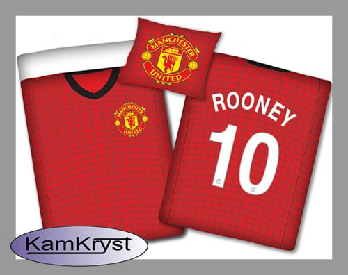 Bedding Manchester United - Rooney | Pościel Manchester United - Rooney #Manchester_United #Manchester_United_bedding #rooney