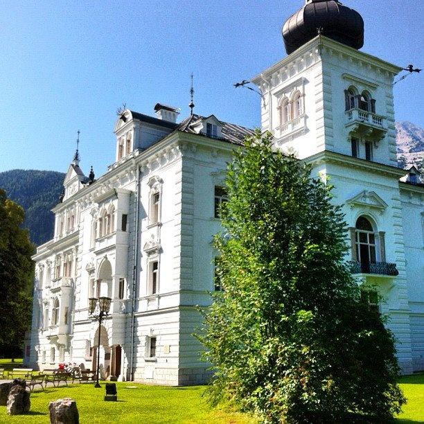 Saint Martin Bei Lofer (Austria) : Castello