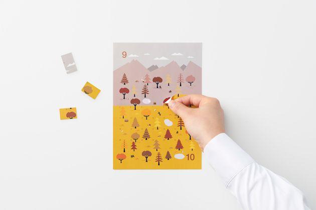 一層一層撕開一年四季 洋蔥式月曆設計 | MyDesy 淘靈感