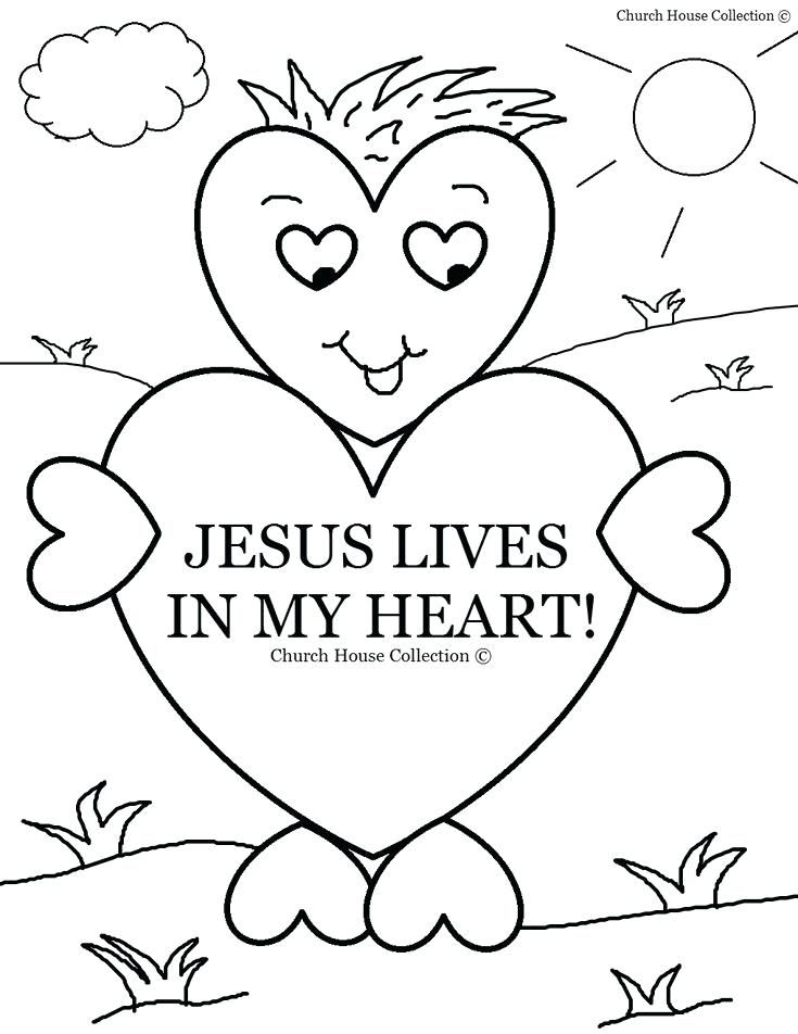 Free Bible Coloring Pages For Kids Valentines Day Heart Lives In My Heart Co Sunday School Coloring Pages Sunday School Valentines Valentines Day Coloring Page