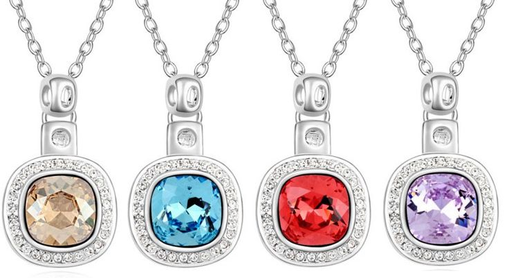 $11,51 Ascending Swarovski crystal necklace - Yohanna Jewelry Wholesale. BEST PRICE: Directly in the jewelry factory. VAT-free shopping: Available, partners based in the European Union, only applies to EU tax identification number (UID). Exclusive design SWAROVSKI crystals and AAA Zircon crystal jewelry and men's stainless steel jewelry and high-quality stainless steel jewelry for couples sell in bulk to resellers! Please contact us.