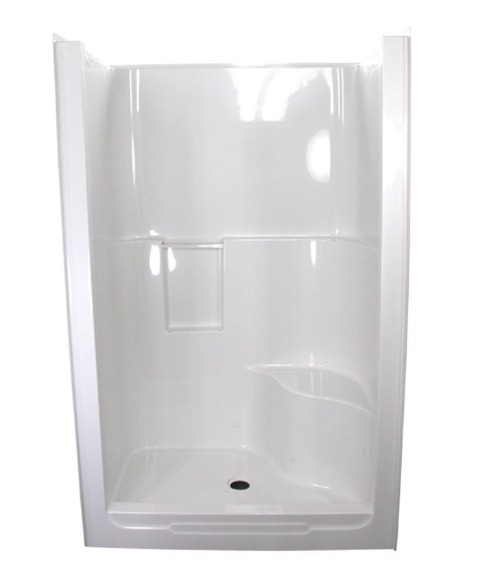 Good One Piece Fiberglass Shower Stalls   Bing Images