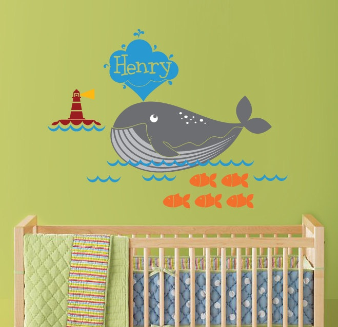 17 best ocean stickers images on Pinterest | Baby rooms, Baby room ...
