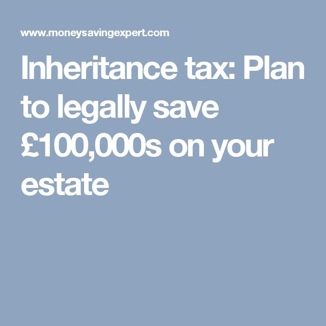 Inheritance tax: Plan to legally save £100,000s on your estate
