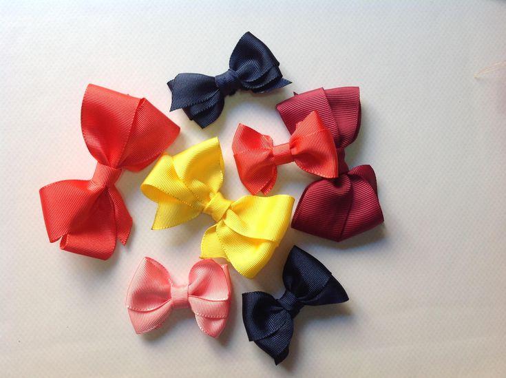 Como hacer Lazos, para nuestras pequeñas princesas, quedan genial y los podemos hacer de diferentes colores y diferentes tamaños.