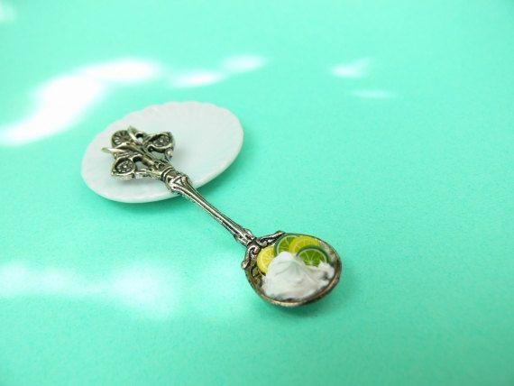 Sweet jewelry necklace pendant handmade miniature dessert mini food dollhouse fimo tiny cake candy summer kawaii cute ooak jewellery gift