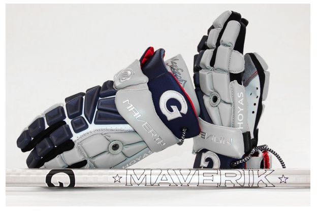 "09/18/12: ""Maverik Lacrosse and Cascade Lacrosse are proud to welcome the Georgetown University men's lacrosse team to the growing list of Division I, II and III programs competing in their equipment."" via lacrosse playground"