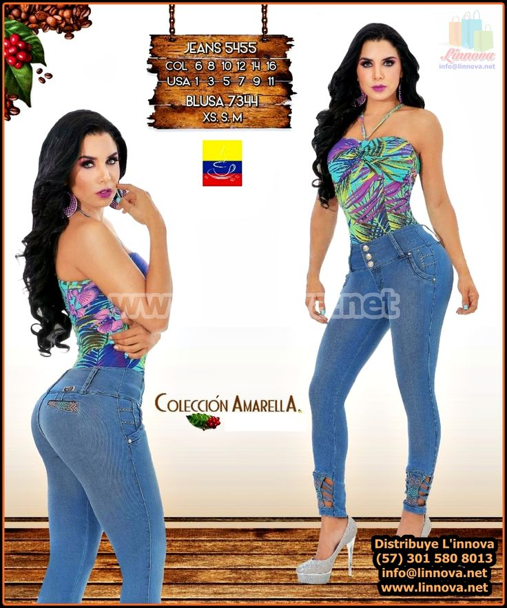 150610 - Catalogos de Ropa Femenina / Jeans - Blusas