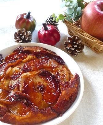 フライパンで簡単!りんごとヨーグルトのケーキ by わち ようこさん | レシピブログ - 料理ブログのレシピ満載!