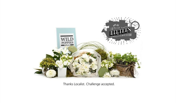 Wild Poppies | Bouquet of flowers, cupcakes and Ecoya candle | Nominates Ecoya