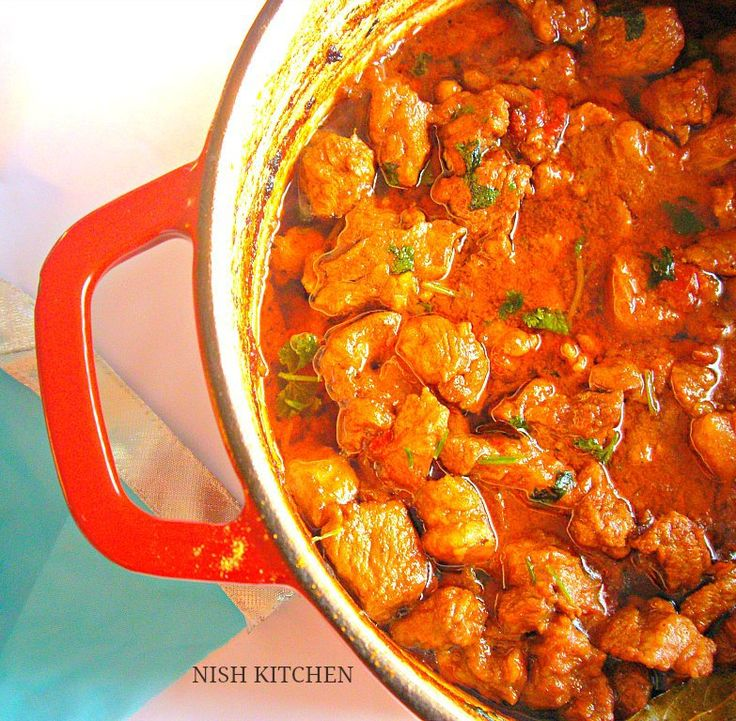 Jamie Oliver's North Indian Lamb Curry | Nish Kitchen