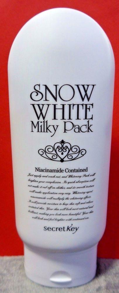 Secret Key Snow White Milky Pack with Niacinamide 200g (KM342) #secretKey