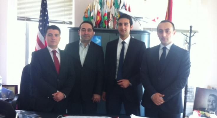Başbakanlık Yurtdışı Türkler ve Akraba Toplulukları Başkanlığından TADF'ye Ziyaret