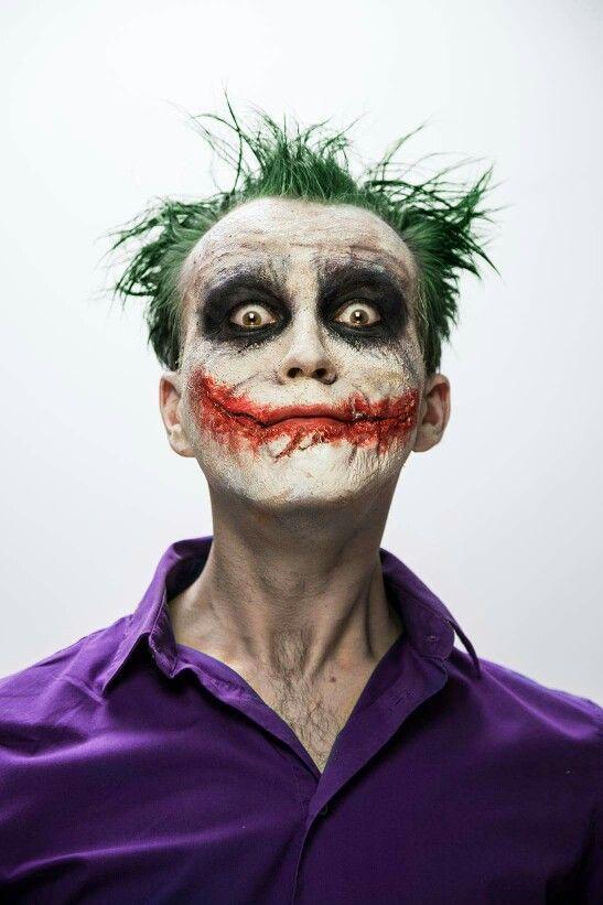 Joker sfx makeup MUA&hair: Aga Kwiatkowska-Stańska Make Up Photo: Dominik Hajder