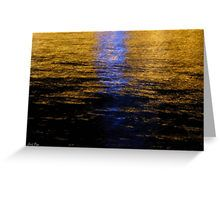 Reflections Greeting Card by Emily Pigou #card #postcard #sea #buycard #buypostcard #office #officegifts #stationery #buystationery #giftsforkids #giftsforhim #giftsforher #teenagergifts #summercard #greetingcard #buygreetingcard #redbubble #emilypigou