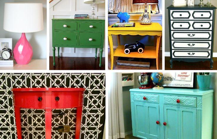 Scraphacker - Best Before & Afters: Paintings Furniture, Furniture Makeovers, Diy Furniture, Furniture Redo, Furniture Projects, Furniture Paintings, Paintings Old Furniture, Funky Furniture, Furniture Ideas