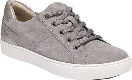 e90183d8e88  66.71 Womens Naturalizer Morrison Sneaker - Grey Leather - FREE Shipping    Exchanges