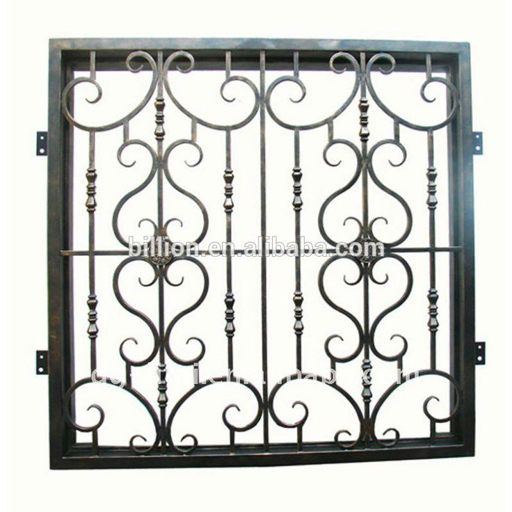 17 best images about window wrought iron on pinterest for Window protector designs