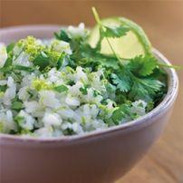 Mexicaanse rijst met verse koriander en limoen | Smulweb.nl