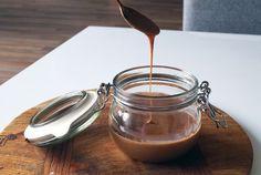 Suikervrije karamelsaus
