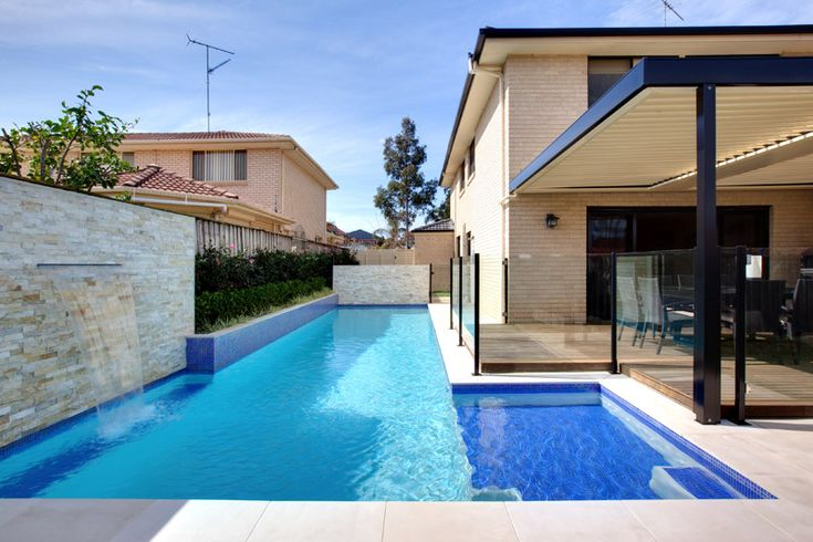 Traditional Geometric Style Pool - Kellyville-Pool-Project by Sydney Pool Builder - Sunrise Pools