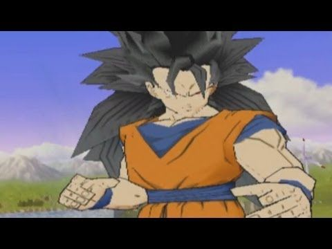 DragonBall Z Budokai 3 - Goku SS3 and Mystic Gohan Fuse