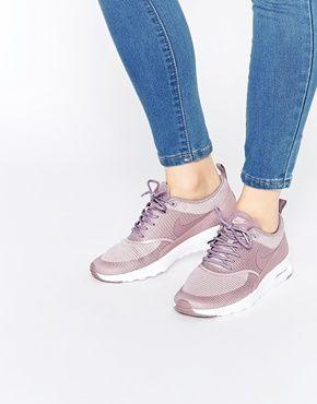 Nike | Nike Plum Fog Air Max Thea Trainers at ASOS